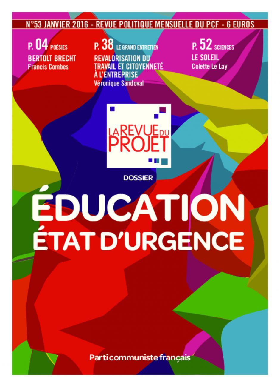 La Revue du projet, n° 53, janvier 2016