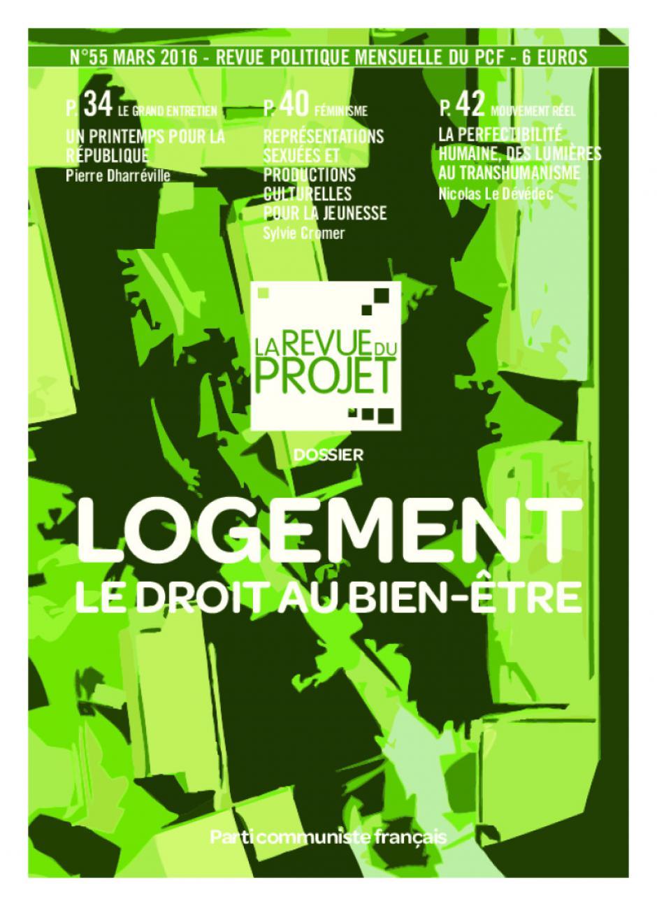 La Revue du projet, n° 55, mars 2016