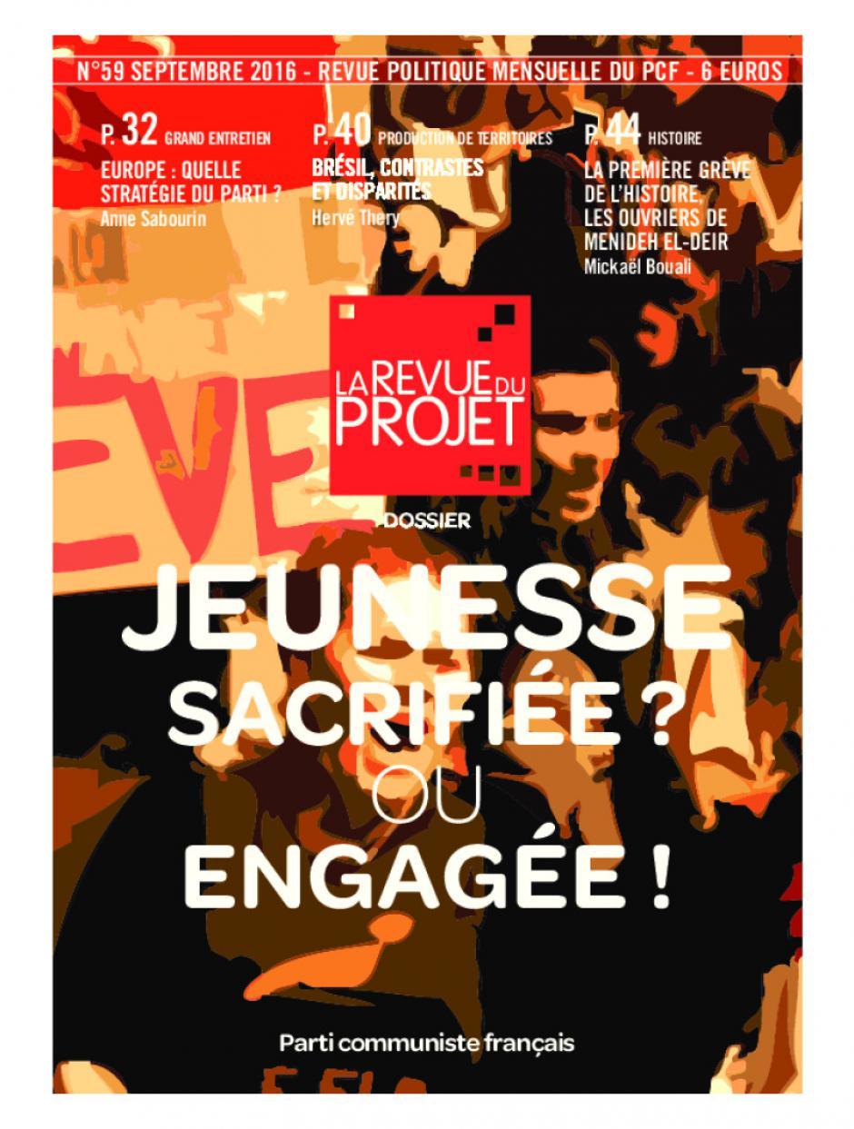 La Revue du projet, n° 59, septembre 2016
