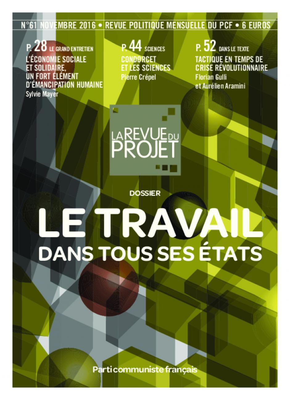 La Revue du projet, n° 61, novembre 2016
