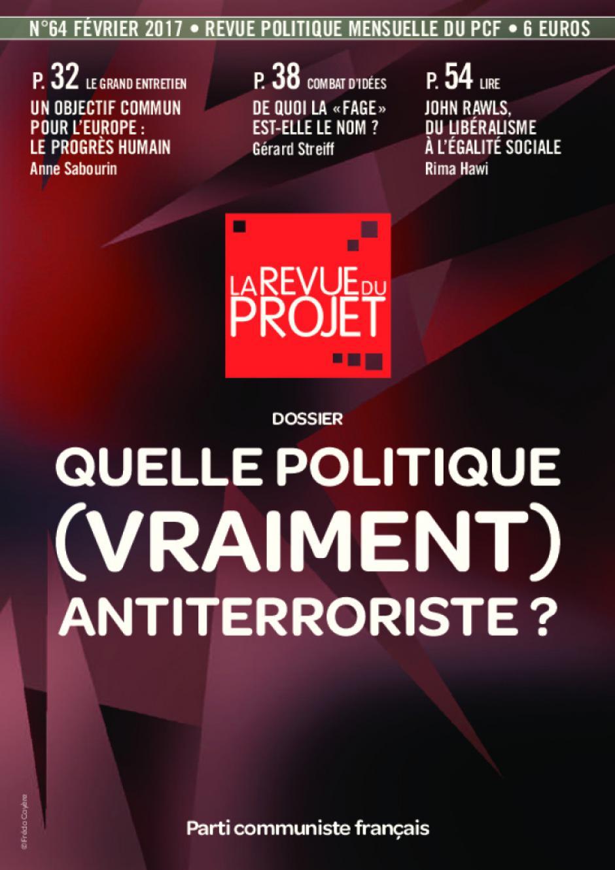 La Revue du projet, n° 64, février 2017