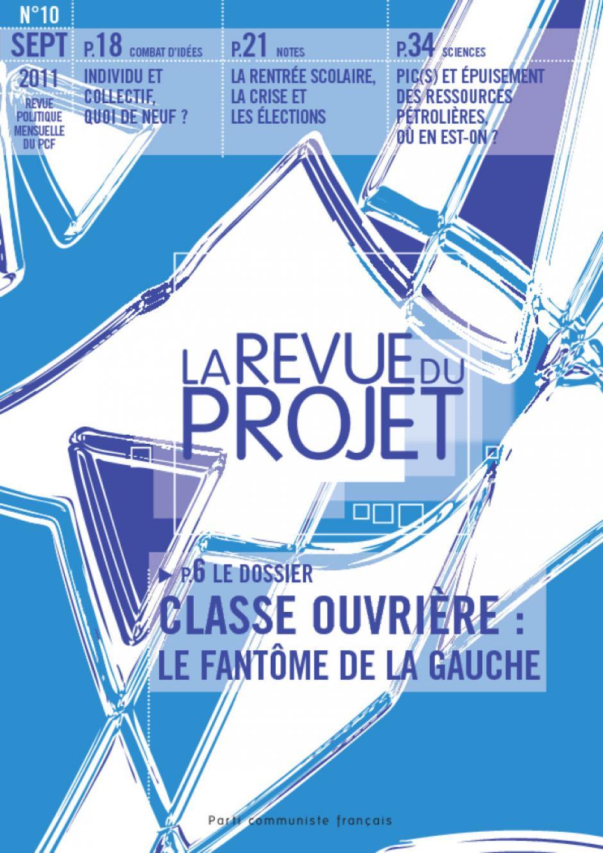 La Revue du Projet, n° 10, septembre 2011