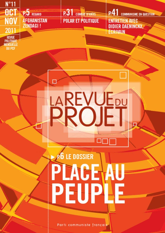 La Revue du  projet, N° 11, octobre-novembre 2011