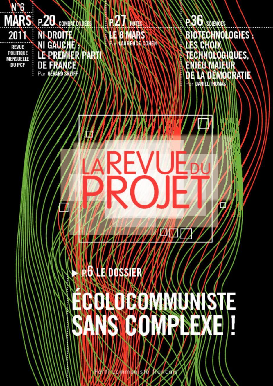 La Revue du Projet, N°6, mars 2011