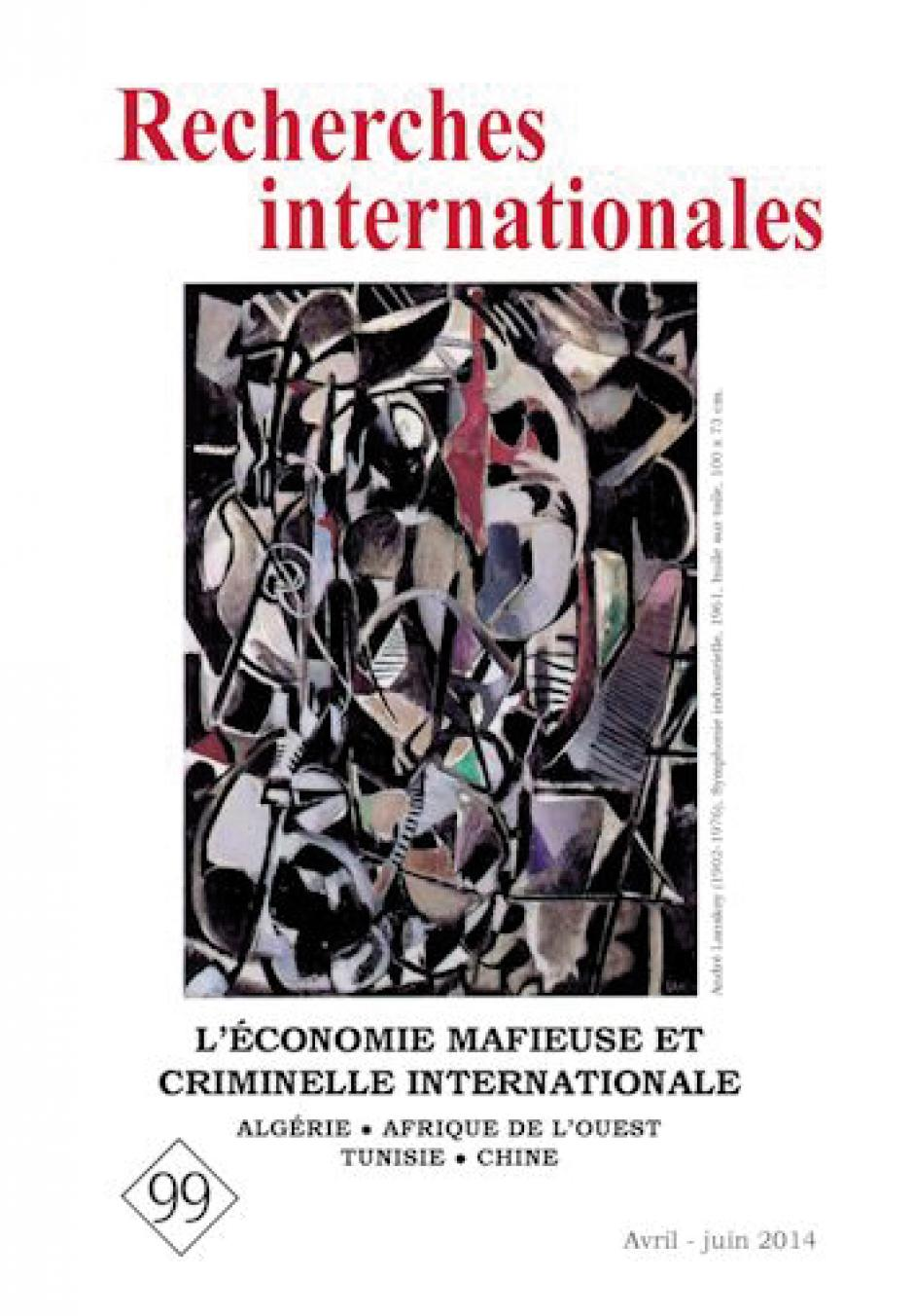 « L'économie mafieuse et criminelle internationale »