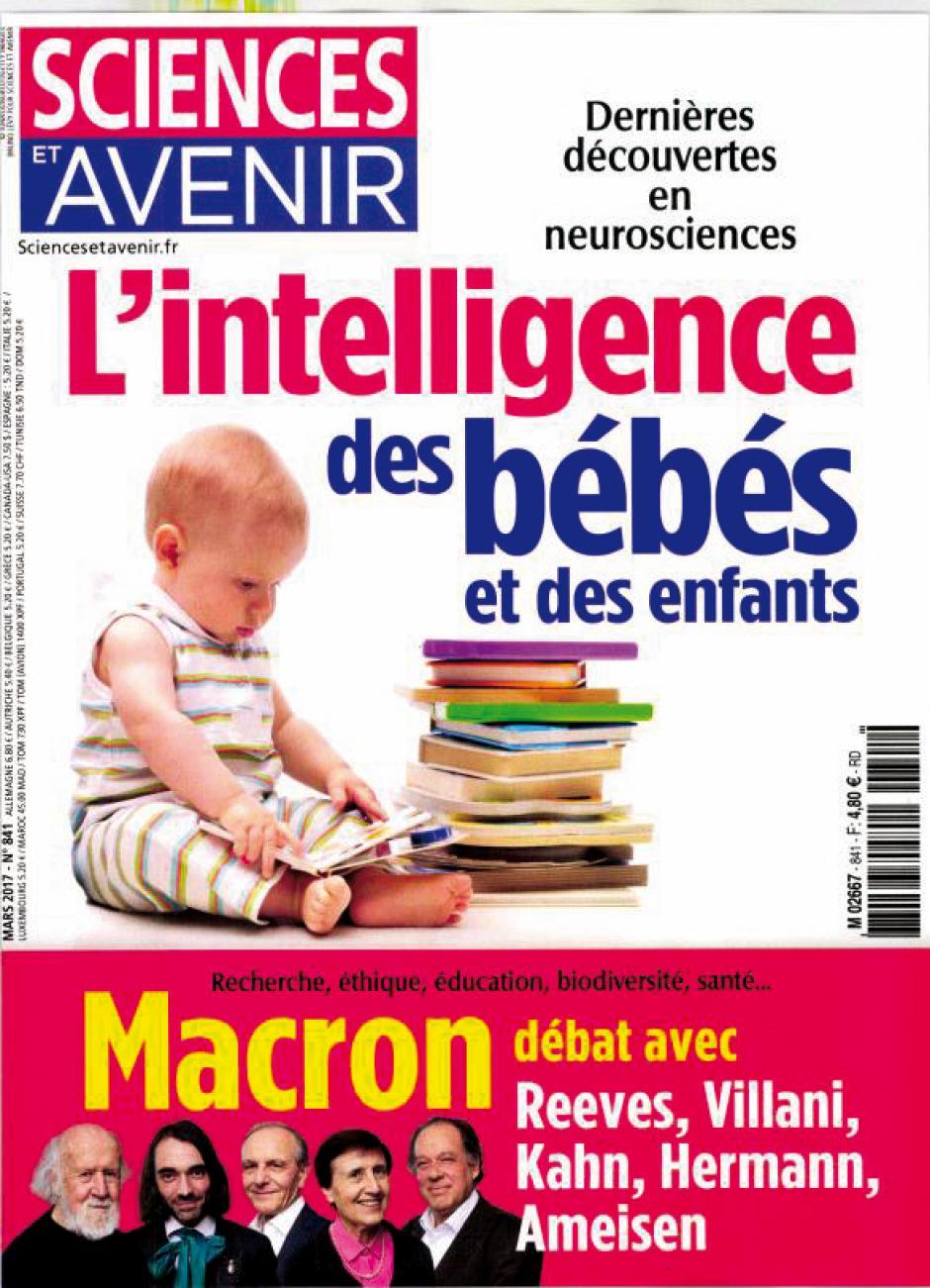 Sciences et avenir se met en quatre pour... Emmanuel Macron, Par Acrimed