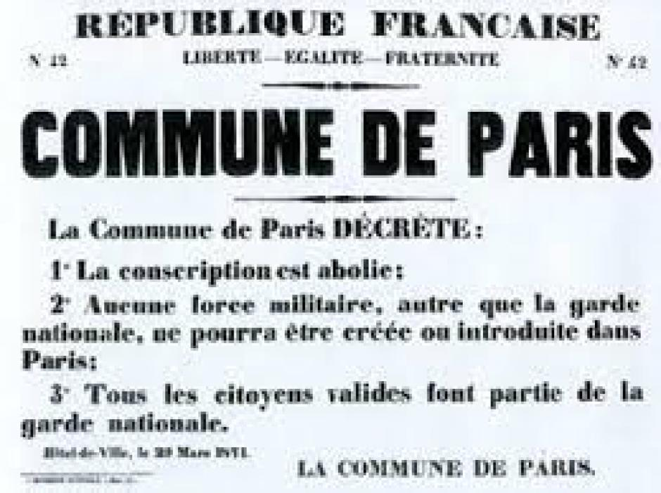 La Commune de Paris :  « le très possible communisme »