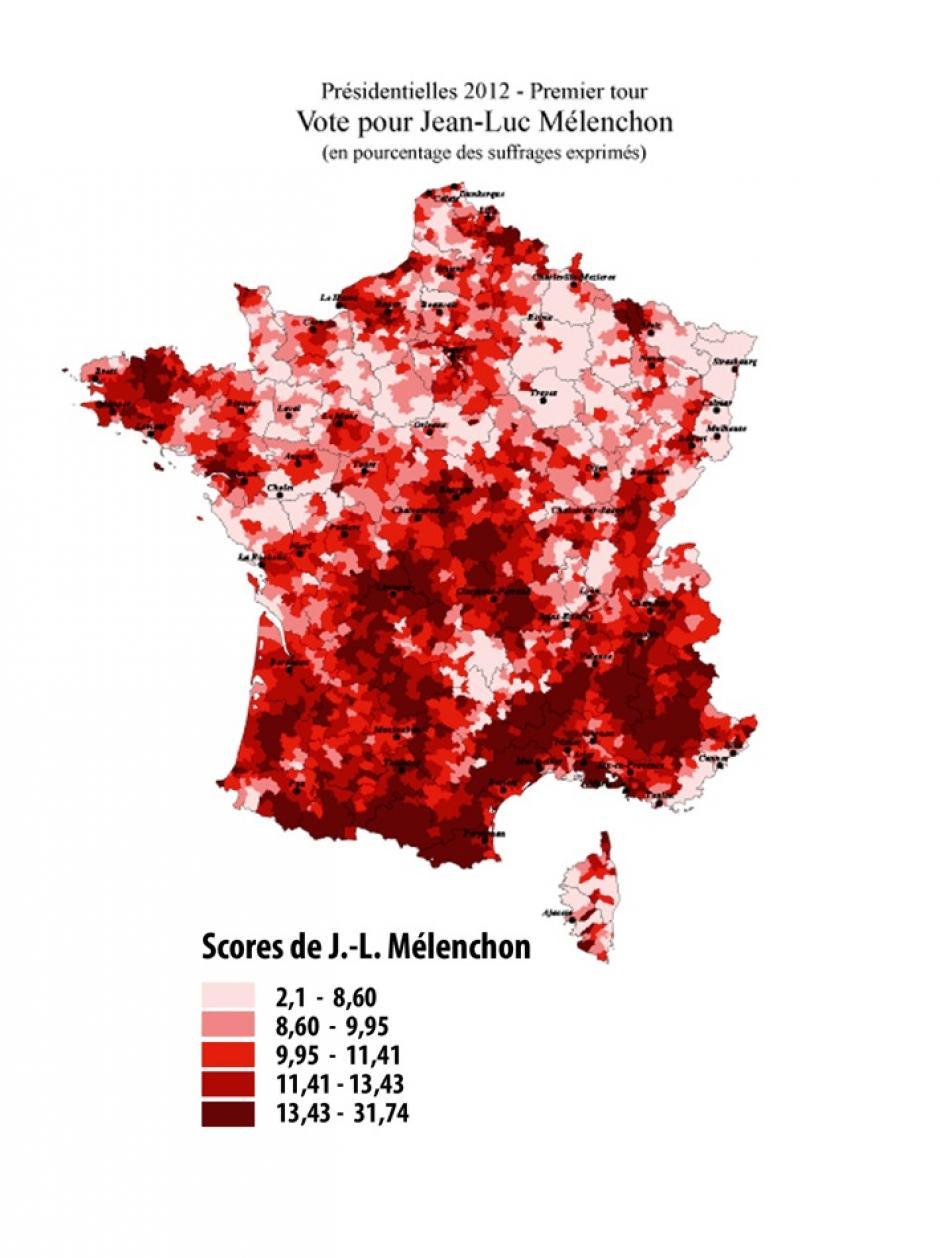 Vote Front de gauche en 2012. Nouveautés et permanences du vote communiste, Céline Colange, Jérôme Fourquet, Michel Bussi*