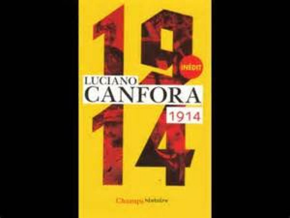 Mussolini entre en scène, Luciano Canfora