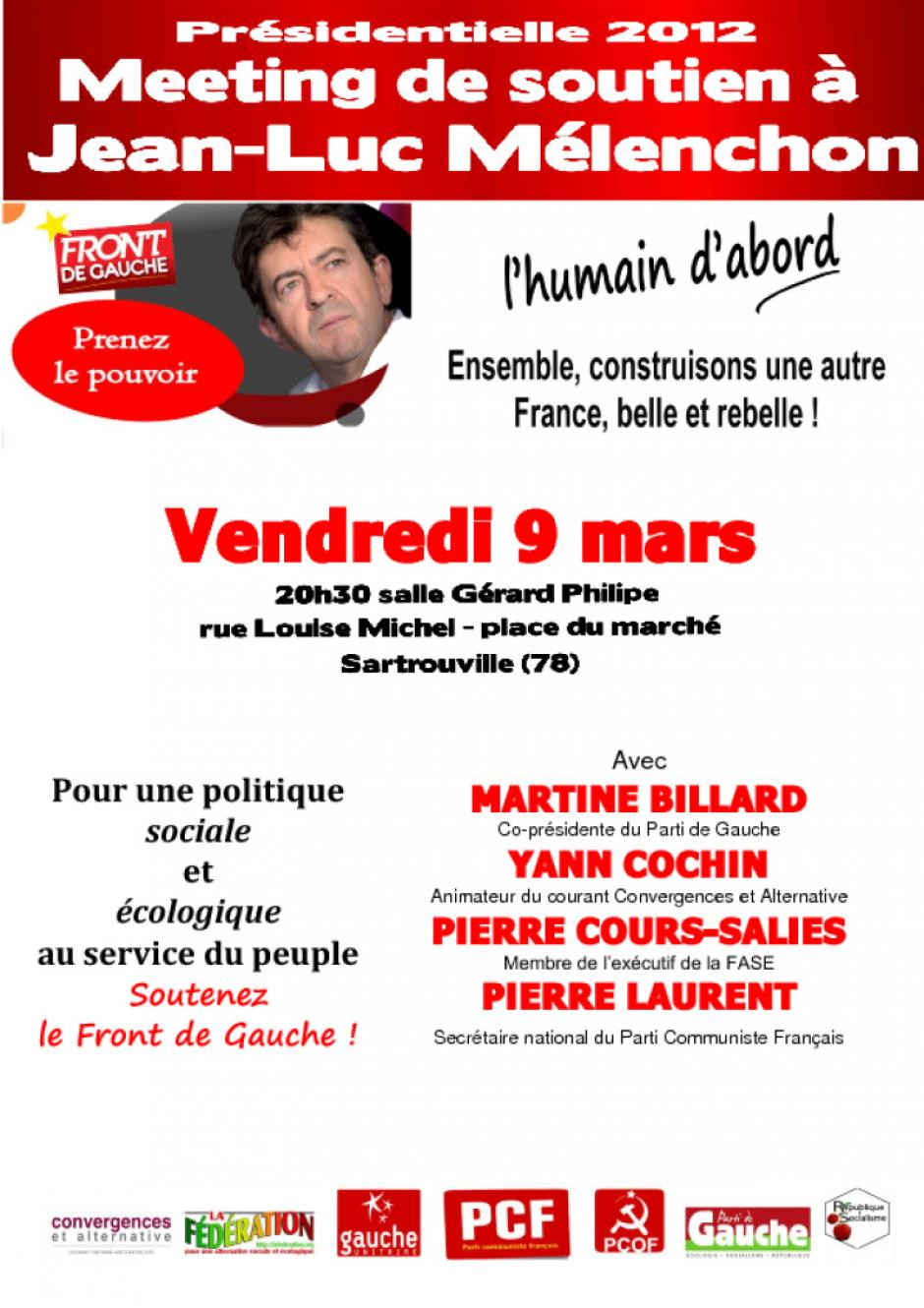 Tract Meeting 09-03-2012 Sartrouville
