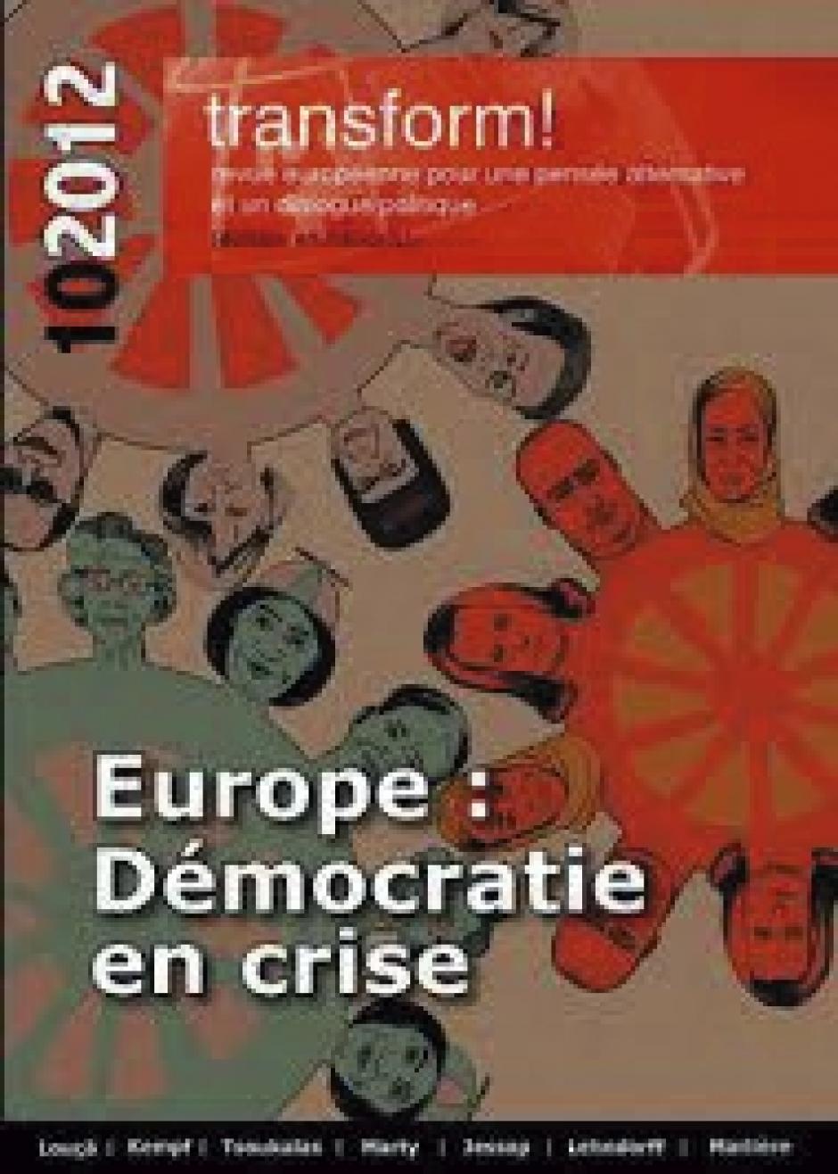 « Europe, Démocratie en crise »