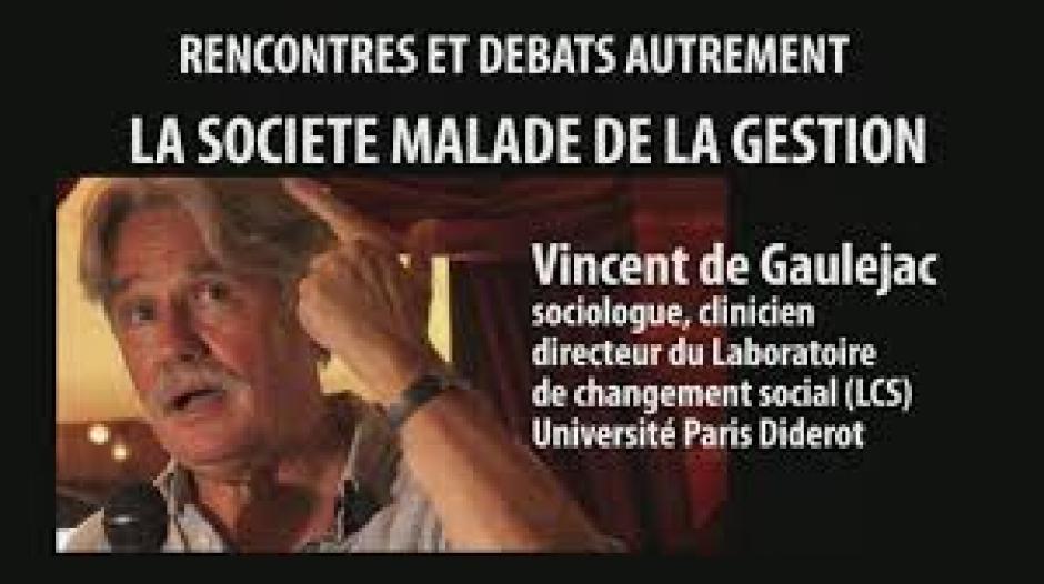 De l'éclatement des classes sociales à la lutte des places,  Vincent de Gaulejac*